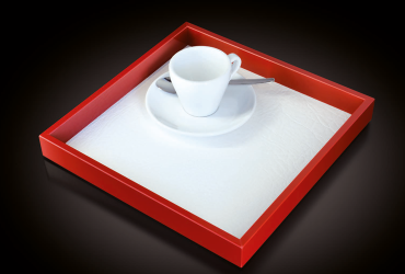 Classy multi-purpose tray made out of top-quality materials
